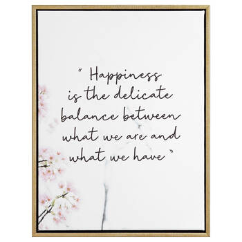 Happiness Printed Framed Art