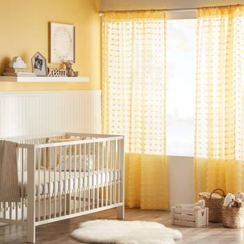 Pompom Sheer Curtain