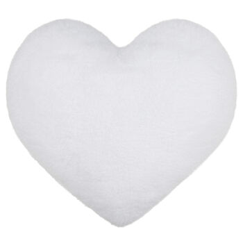 "Wila Heart-Shaped Decorative Pillow 14"" X 15"""