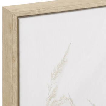 Framed Eucalyptus and Pampas