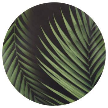Ensemble de 4 napperons feuilles tropicales