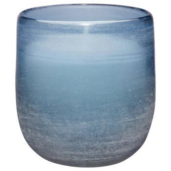 Chandelle dans un pot en verre
