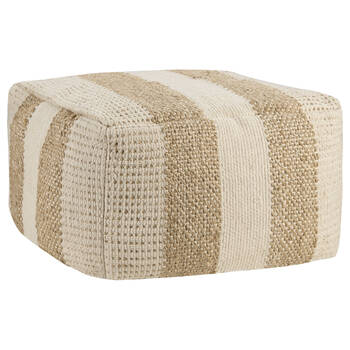 Cotton and Jute Ottoman