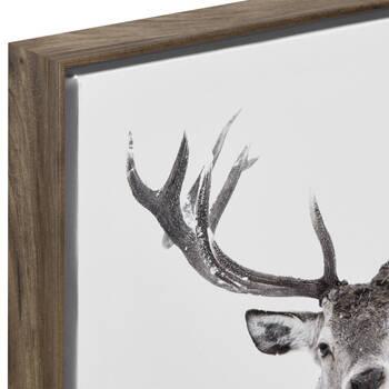 Deer Printed Framed Art