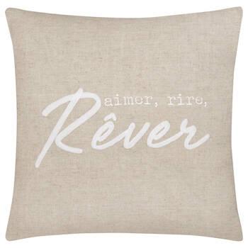 "Rêver Decorative Linen Pillow 20"" X 20"""