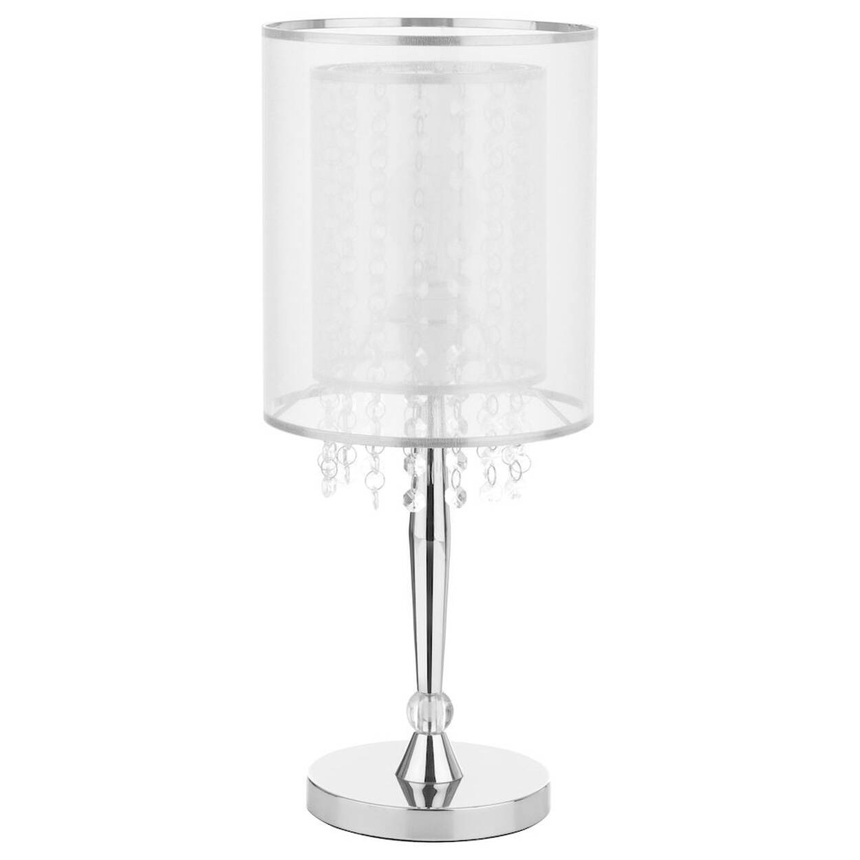 Ribbon and Droplet Table Lamp