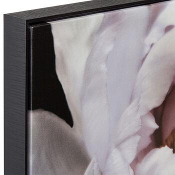 Framed Floral Printed Canvas