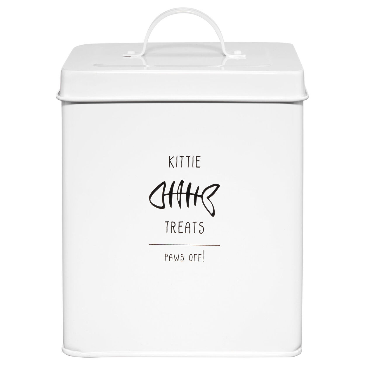 Pet Treat Metal Canister