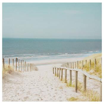 Beach Path Printed Canvas
