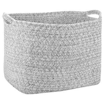 Grand panier de rangement en corde de coton