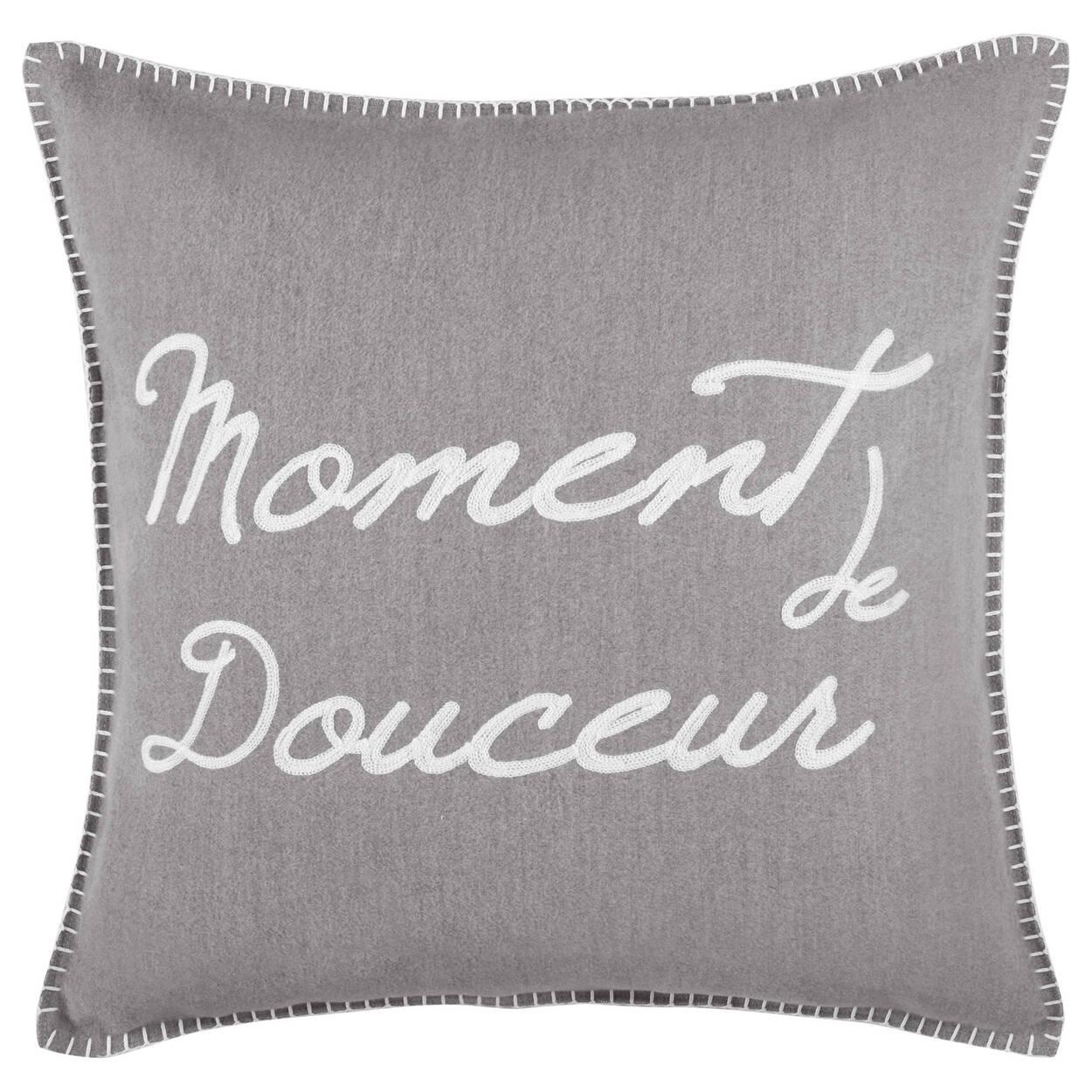 """Moment de Douceur Decorative Pillow 19"""" X 19"""""""