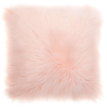 "Gobi Faux Fur Decorative Pillow 17"" X 17"""