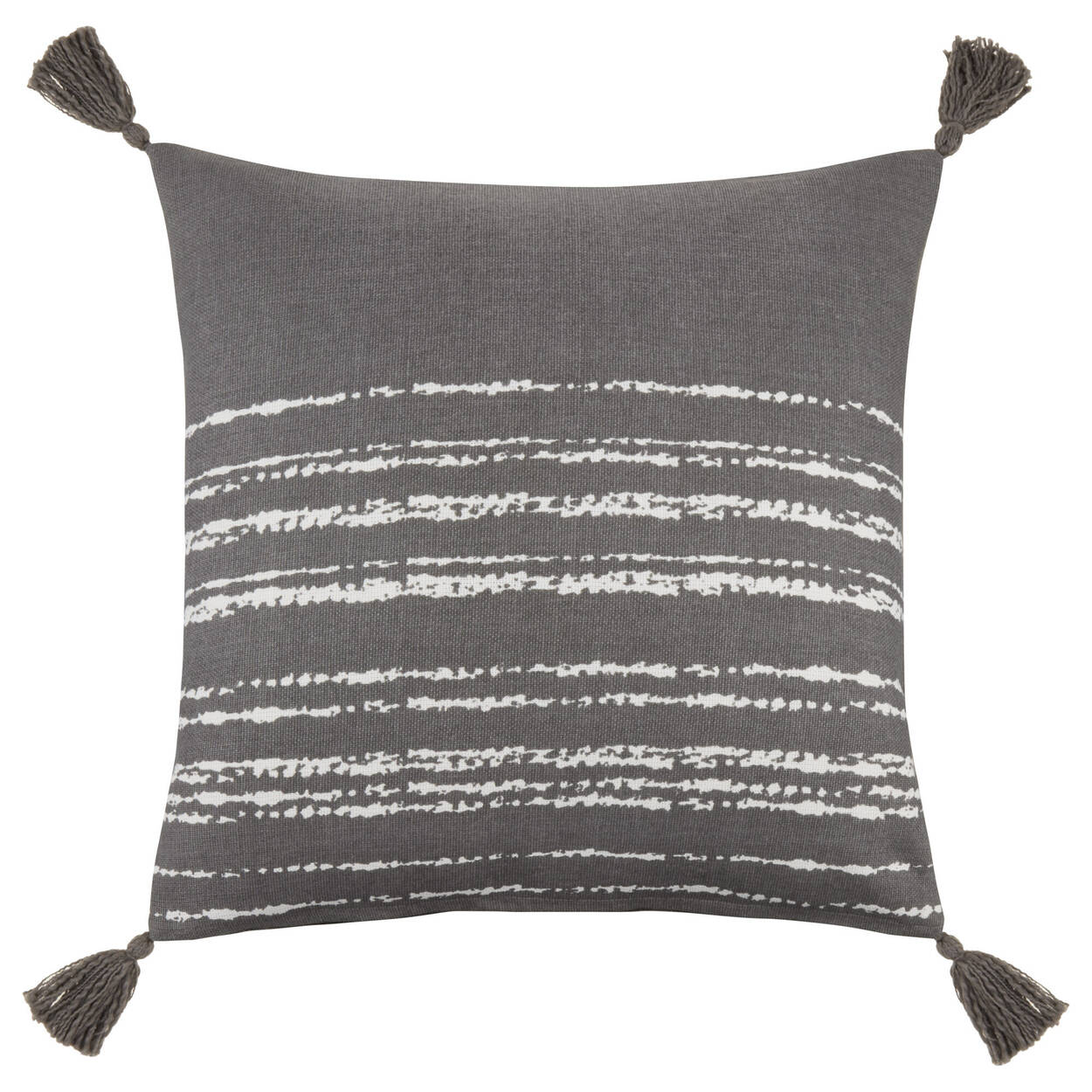 """Shiri Decorative Pillow with Tassels 19"""" x 19"""""""