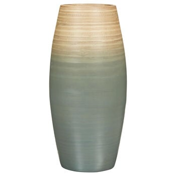 Two-Toned Bamboo Table Vase