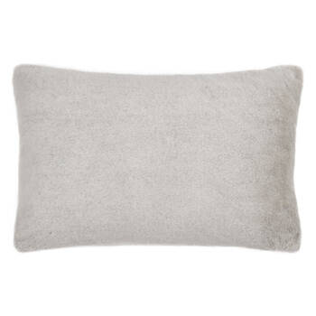 "Faux Fur Lumbar Decorative Pillow 13"" x 20"""