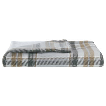 "Morane Plaid Throw 50"" x 60"""