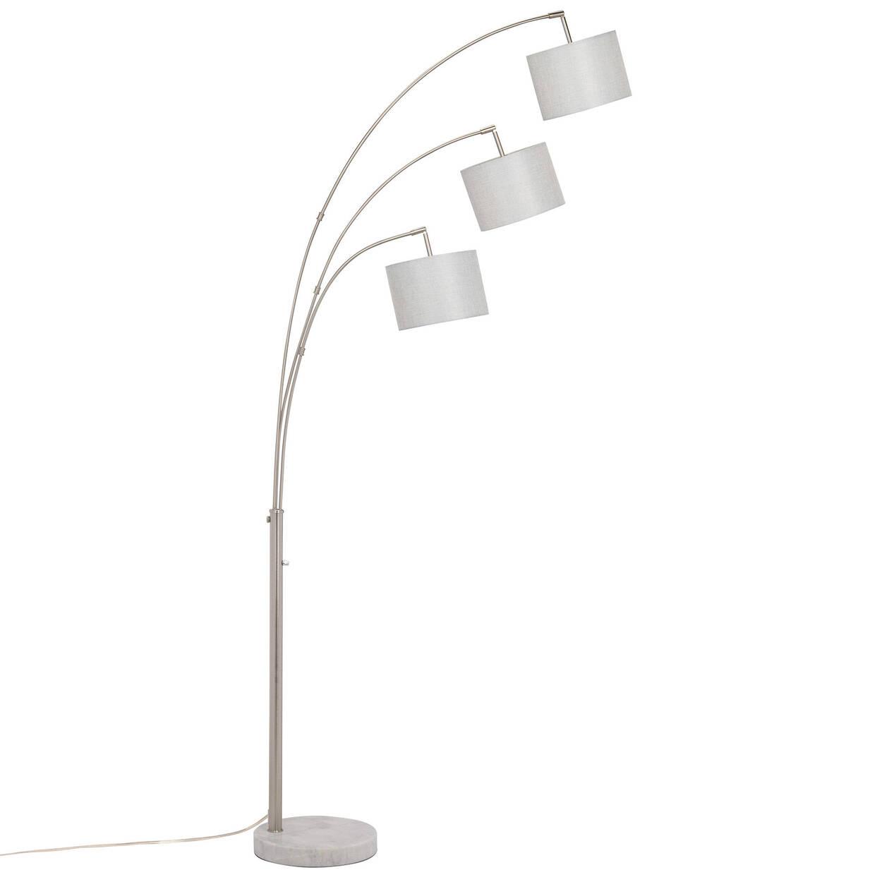 3-Head Floor Lamp with Marble Base | Bouclair.com