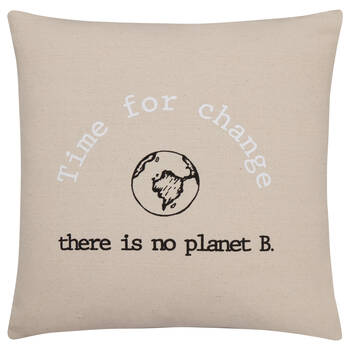 Time for change cushion cover