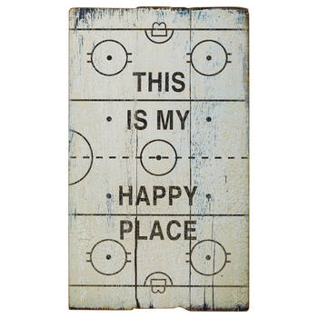 Happy Place Wall Plaque