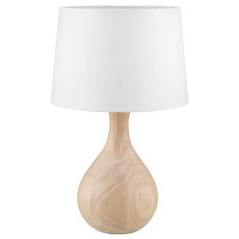 Natural Wood Table Lamp