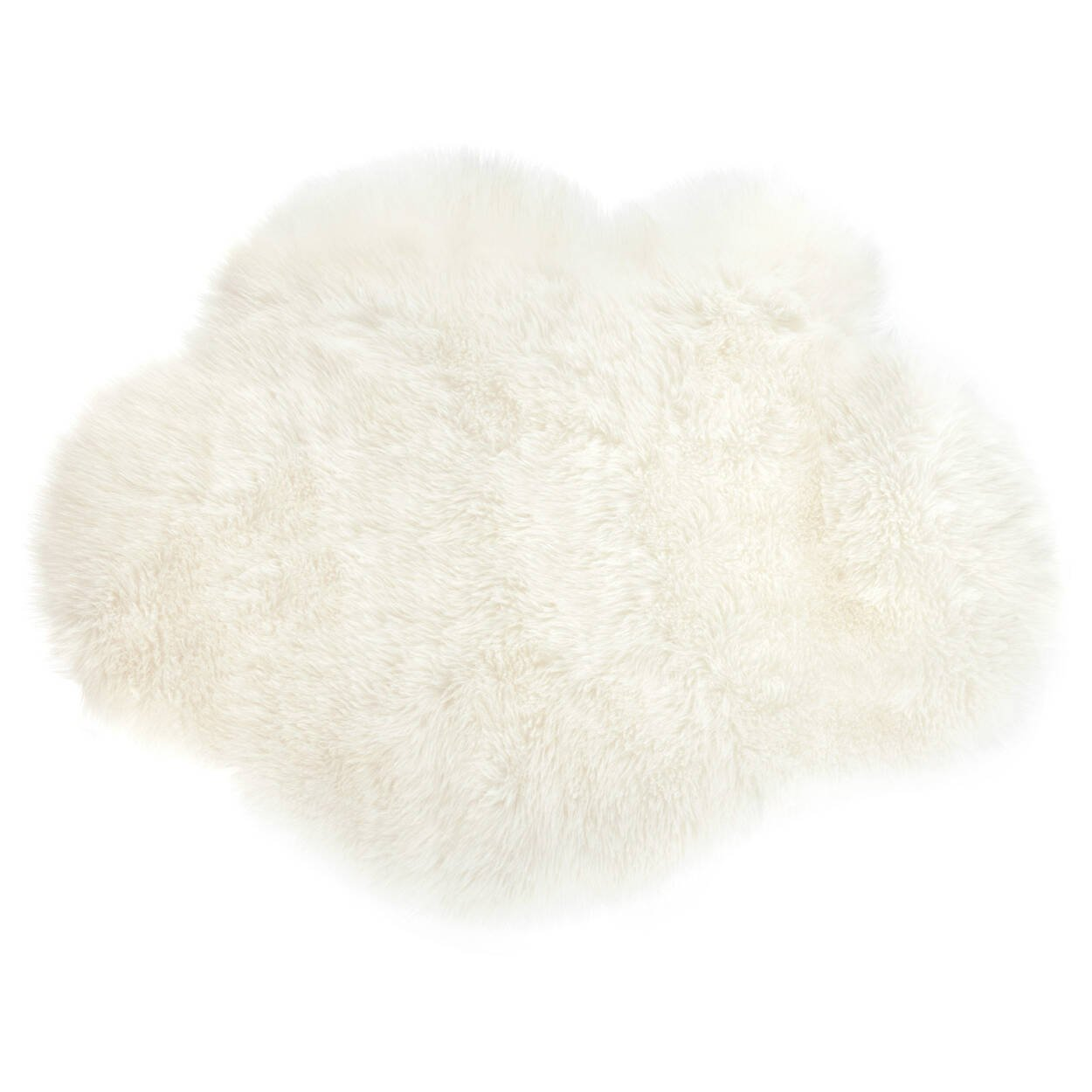 Tapis nuage en fausse fourrure