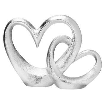 Decorative Ceramic Double Heart