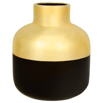 Vase de table en céramique à deux tons