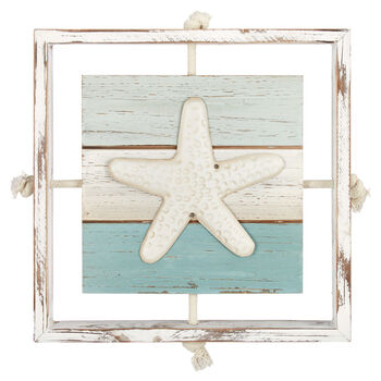 Starfish Wall Plaque