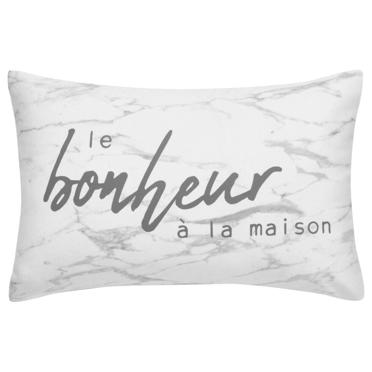 """Ayanna Marbled Decorative Lumbar Pillow 13"""" X 20"""""""