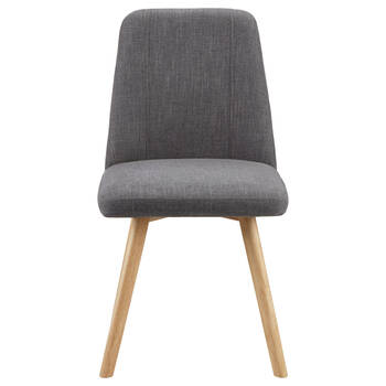 Chita Fabric and Wood Dining Chair