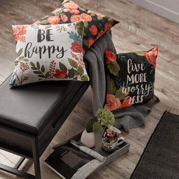 "Botanya Decorative Pillow Cover 18"" x 18"""