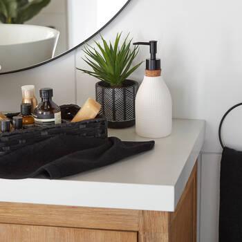 Distributeur de savon avec bouchon en liège