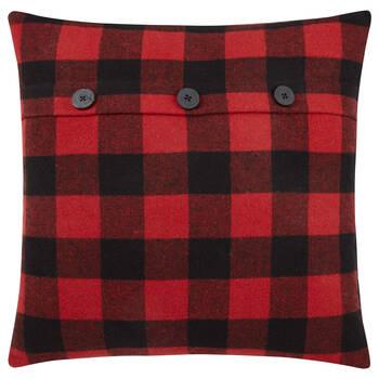 """Lewis Plaid Decorative Pillow 20"""" X 20"""""""