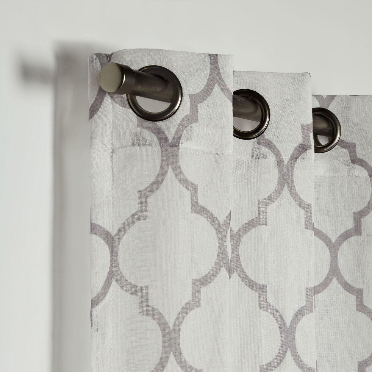 Baroque Sheer Curtain