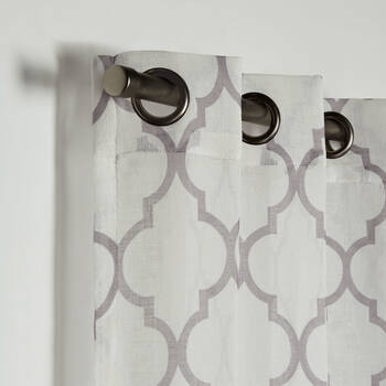 Baroque Sheer Curtain
