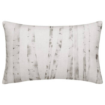"Birch Printed Decorative Lumbar Pillow 13"" X 20"""