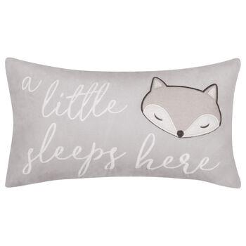 """Fox Decorative Lumbar Pillow 9"""" X 16"""""""