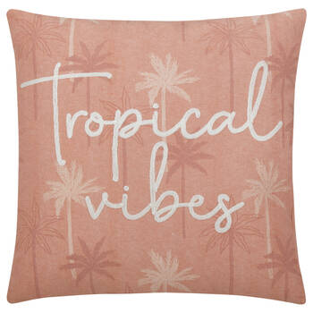 "Deana Tropical Vibes Decorative Pillow 18"" X 18"""