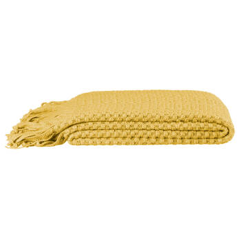 "Popcorn Knit Throw 50"" X 60"""