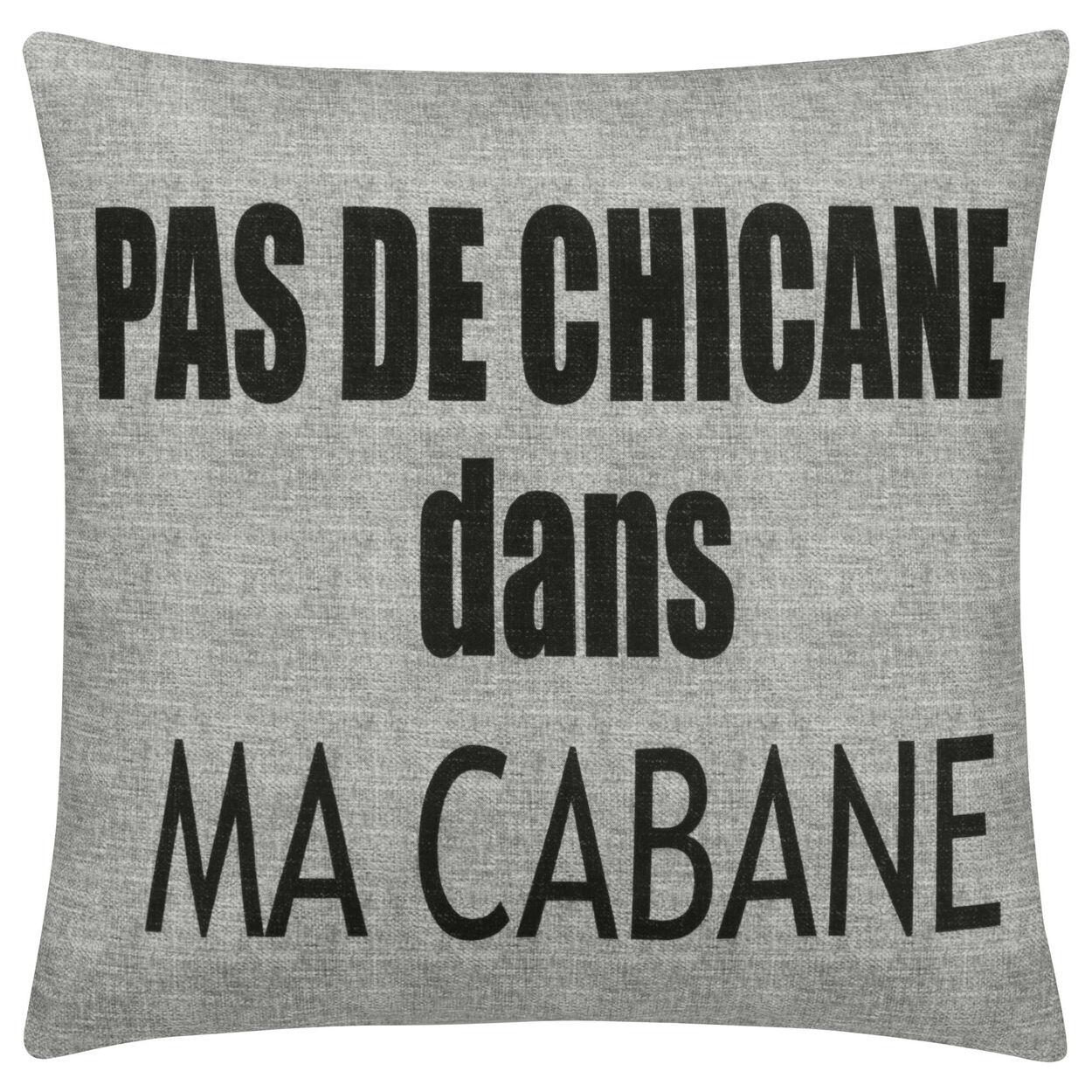 "Cabane Decorative Pillow Cover 18"" X 18"""