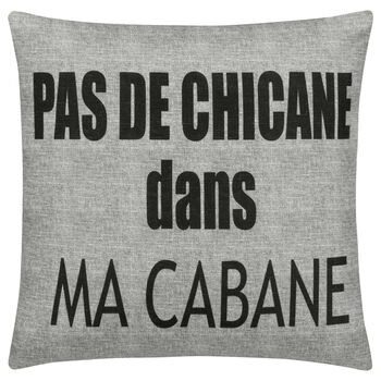 "Cabane Decorative Pillow Cover 18"" X 18"""