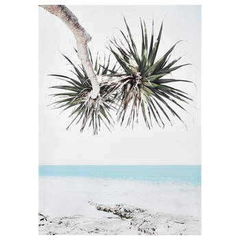 Dreamy Tropical Beach Printed Canvas