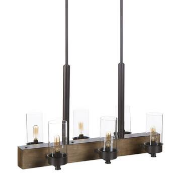6-Bulb Ceiling Lamp