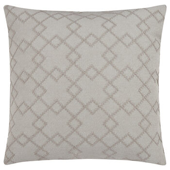 "Argyle 3D Decorative Pillow 18"" X 18"""