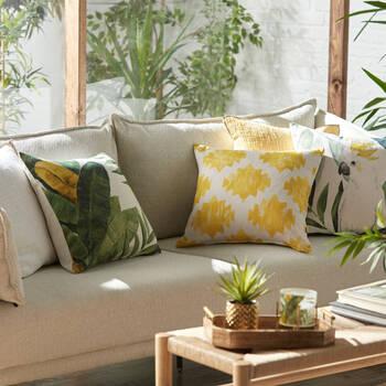 """Eneida Decorative Pillow Cover 18"""" x 18"""""""