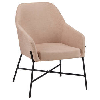 Light Pink Accent Chair