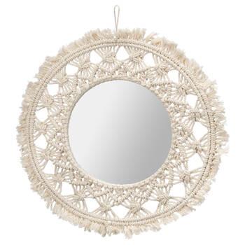 Macramé Mirror