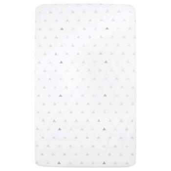 Drap-housse pour lit de bébé avec motif géométrique