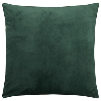 "Foresta Velvet and Cotton Decorative Pillow 20"" X 20"""