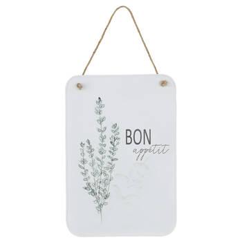 Bon Appétit Hanging Wall Plaque